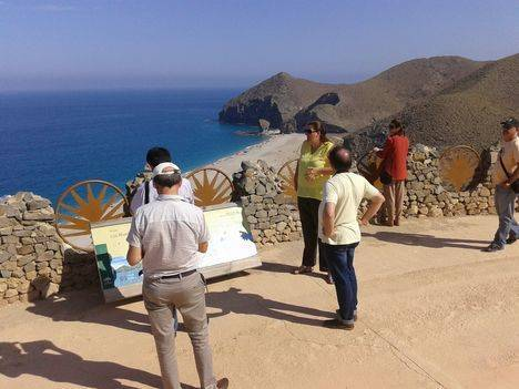 'Costa de Almería' conquista y sorprende a la delegación de periodistas internacionales que visita la provincia