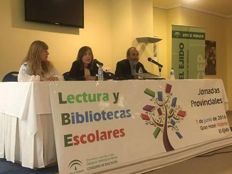 La Junta celebra en El Ejido la Jornada Provincial de Lectura y Bibliotecas Escolares con representantes de más de 60 centros