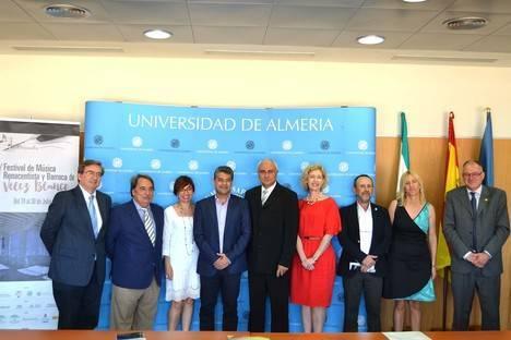 La UAL y UNIA sitúan a Vélez Blanco como referente internacional de música renacentista y barroca
