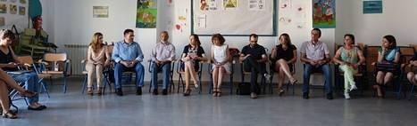 La Delegada territorial de Educación visita el colegio Reyes Católicos de Vera