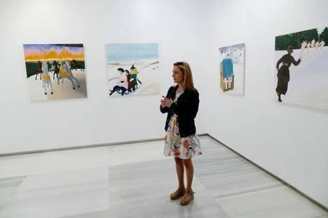 7.500 personas han visitado en el Museo de Almería la exposición 'Desaparecidos' de la artista murciana Carmen Cantabella