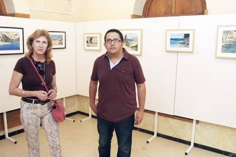 Juan Antonio Maldonado expone 40 acuarelas sobre Cabo de Gata y Punta Entinas en el Faro de Roquetas