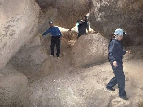 Diputación muestra las Cuevas de Sorbas a usuarios de toda la provincia