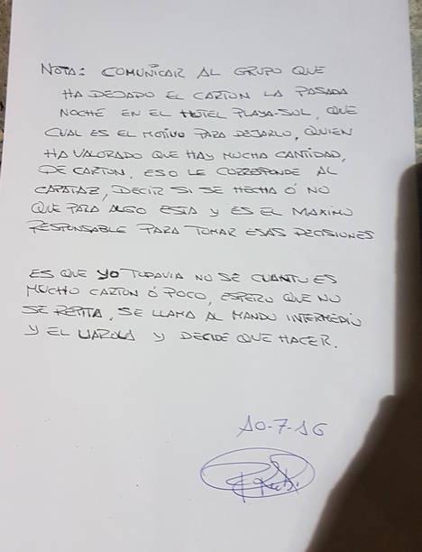 CSIF denuncia que Urbaser Roquetas obliga a los trabajadores a romper la cadena de reciclaje