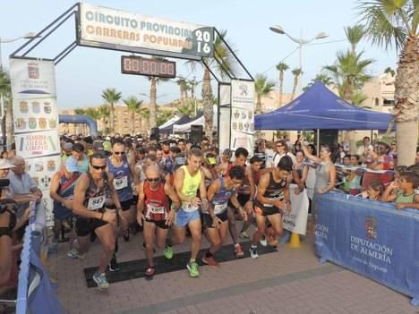Circuito Provincial de Carreras Populares bate su récord de participación en Pulpí