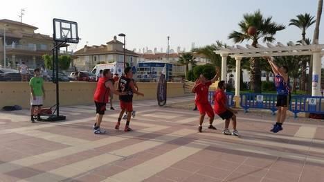 La Copa de Baloncesto 3X3 Costa de Almería celebra su cuarto torneo en Vera