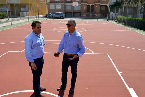 El PMD repara cuatro pistas deportivas con una inversión de más de 24.000 euros