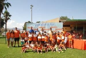 Cuarenta ni�os y ni�as participan en la clausura de las Escuelas de Verano de agosto