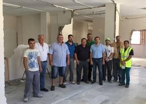 Diputaci�n inicia las obras del Centro de Rehabilitaci�n Integral de la Asociaci�n �Ver de Olula�
