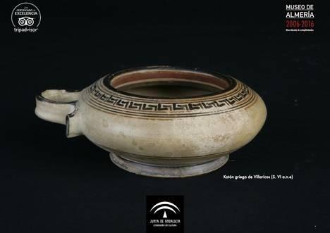 El Museo de Almería presenta un kotón de origen griego como Pieza del Mes