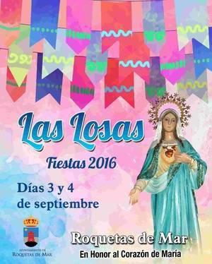 Las Losas celebra sus fiestas en honor al Corazón de María
