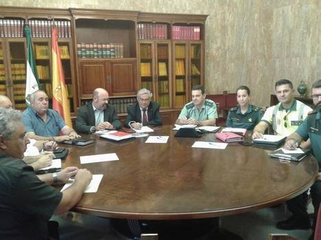 Reunión de coordinación del dispositivo especial de seguridad para la peregrinación al Santuario de Monteagud