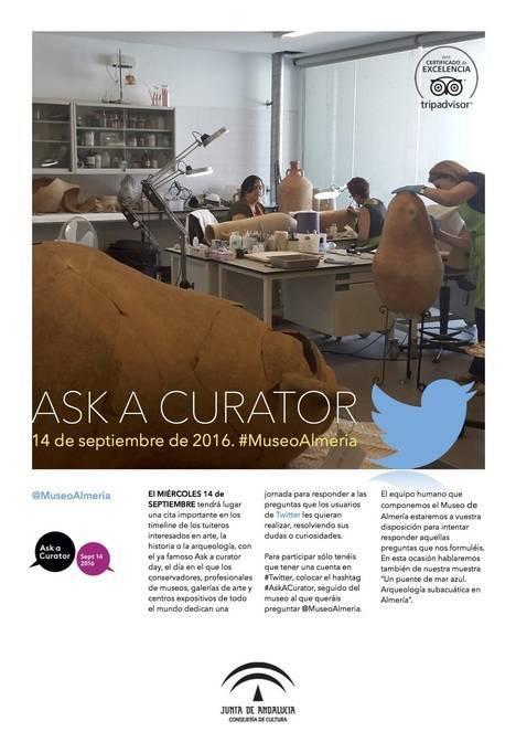 El Museo de Almería participa mañana en la iniciativa internacional 'Ask a Curator Day' en Twitter e Instagram