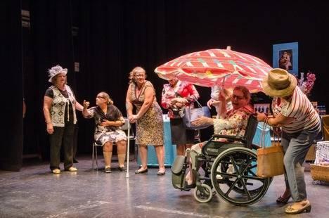 Teatro Apolo se transformó en la 'Residencia San Antonio' con el Grupo Yo Voy Teatro