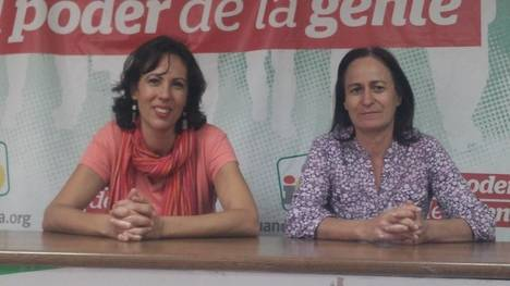 Izquierda Unida encarga a Eva García los temas de Almería en el Congreso