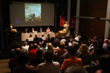 Santiago Posteguillo abre el Ciclo de Encuentros Literarios con un repaso por los personajes y la estructura de su novela histórica