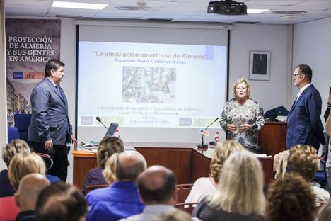 El IEA acoge una conferencia sobre la huella de la provincia en América