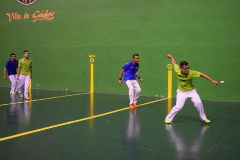 El combinado Alhama-Benahadux se impone al Gádor en la final del Torneo de Pelota Feria