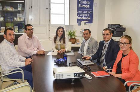 Diputación y Berja se unen para impulsar y promocionar el comercio virgitano