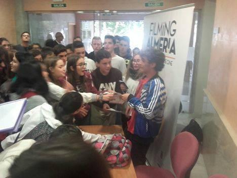 Más de 600 estudiantes de Huércal-Overa y Vélez-Rubio disfrutan de 'A Cambio de Nada'