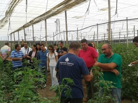 La Junta forma en producción ecológica a jóvenes agricultores del Bajo Andarax y el Campo de Dalías