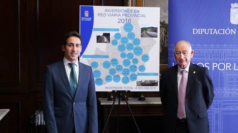 Diputación actualiza la cartografía de 33 municipios y 7 carreteras provinciales