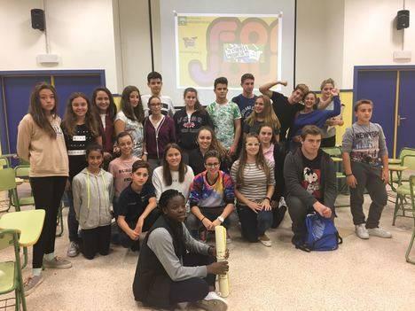 Jóvenes de Cuevas, Pulpí y Sorbas participan en un taller de mediadores