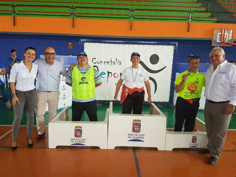 Diputación celebra con éxito en Huércal-Overa el I Encuentro Almería-Murcia de Deporte Adaptado