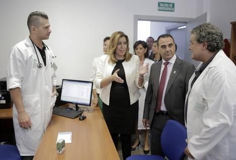Susana Díaz inaugura la ampliación del centro de atención primaria de La Mojonera