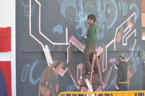 El concurso de graffiti del Hip Hop Street Vícar comienza con la fase de inscripción