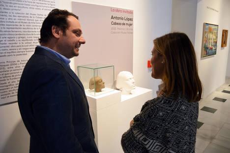 Dos esculturas de Antonio López protagonizan la nueva 'obra invitada' del Museo de Arte 'Doña Pakyta'