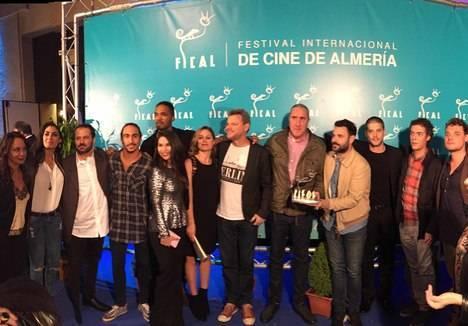 'Mar de Plástico' reciben el premio 'Filming Almería' arropados por los almerienses