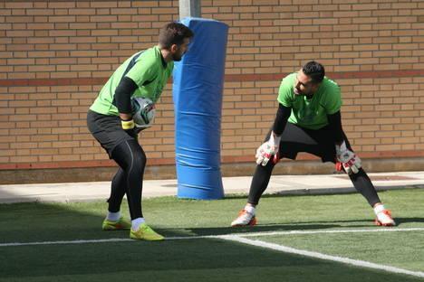 """Álvaro García: """"Tenemos un vestuario muy unido y esa es la clave de la temporada que llevamos"""""""