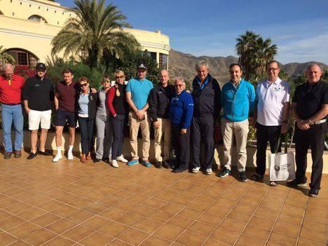 14 turoperadores visitan 'Costa de Almería' para conocer el potencial de su oferta de golf