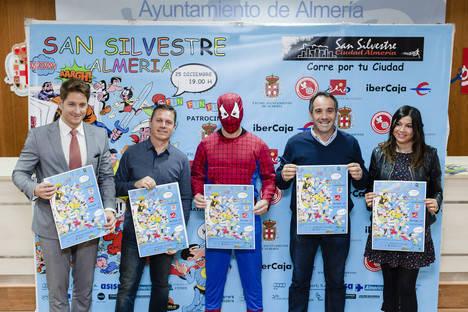 La San Silvestre sacará a los superhéroes almerienses a la calle en Navidad