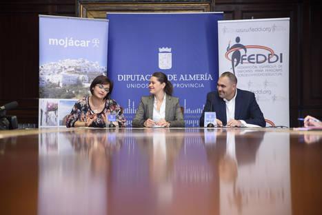 Diputación colabora con el Campeonato de España de Petanca de la FEDDI en Mojácar