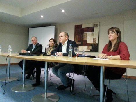Antonio Martínez clausura las I Jornadas sobre el reciclaje de residuos procedentes de la construcción y demolición
