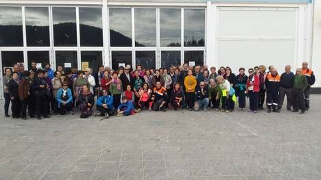 Proyecto 'A Caminar' de Diputación llega hasta el municipio de Vélez-Rubio