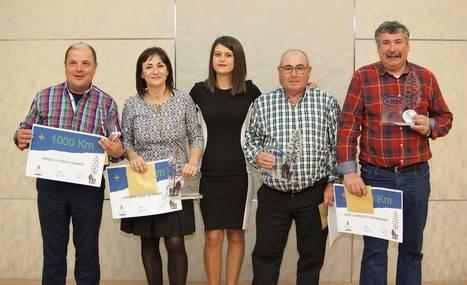 Diputación celebra la III Gala de Rutas y Senderos, tras recorrer este año 66.000 kilómetros