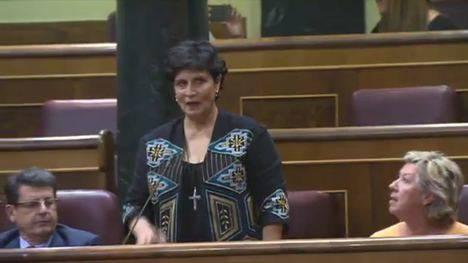 Jura como diputada en el Congreso Carmen Navarro