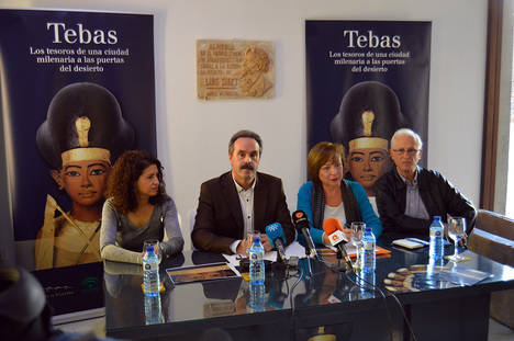 Amigos de la Alcazaba presenta la 'Exposición Tebas' en el Museo de Almería