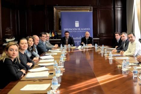 Diputación invertirá 1.000.000 € en la mejora de redes de agua y saneamiento de Alcóntar, Fines y Mojácar