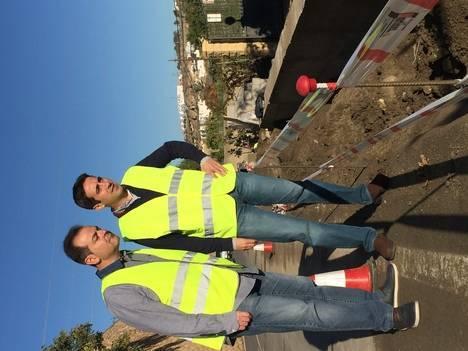 Diputación mejora la seguridad de ciclistas y conductores en la AL-3117 entre Rioja y Pechina