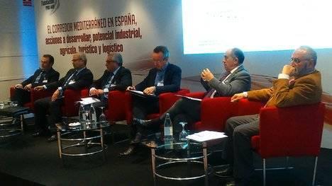 Cámara de Almería participa en la jornada sobre el Corredor Mediterráneo organizada por la Fundación Pro AVE y Ferrmed
