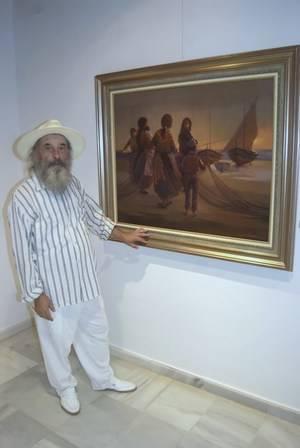 El pintor Clemente Gerez ofrece mañana el pregón de Navidad de Roquetas de Mar