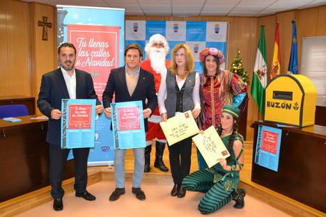 Concejalía de Comercio de Roquetas anima a 'llenar las calles de Navidad'