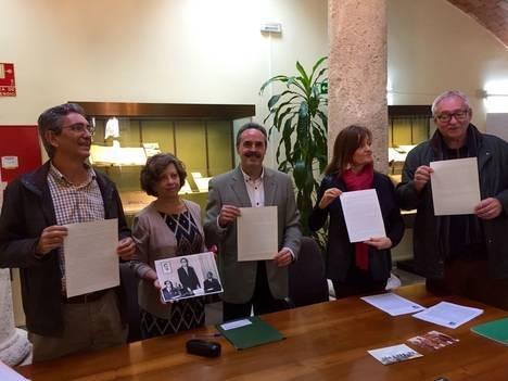 El fallecimiento del editor José María Artero centra una exposición del Archivo Provincial