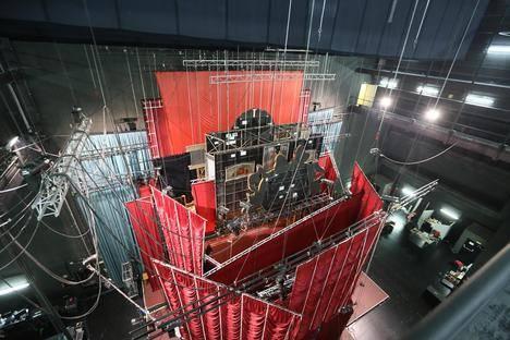 Comienza el montaje de 'Cabaret, el musical de Broadway' en Roquetas