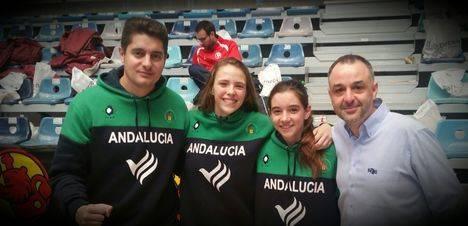 Oro en el Campeonatoo de España de selecciones infantil femenino para los almerienses Gemma Núñez y José Antonio Martín