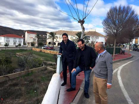 Diputación y Taberno planifican los Planes Provinciales e inversiones para 2017